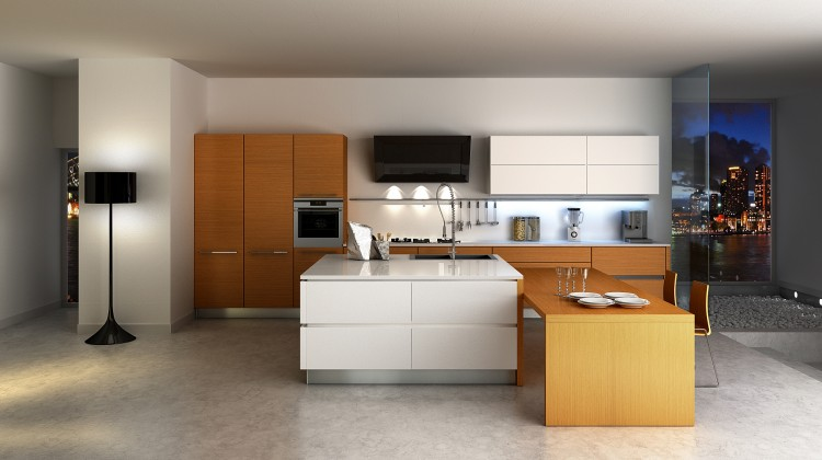 A Little Kitchen Island For The Modern Kitchen Design